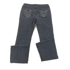 Bongo Juniors Black Jeans Straight 7